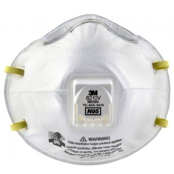 Respirador desechable 8210V